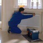 Монтаж радиаторов систем отопления