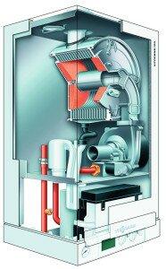 Схема устройства котла на газу немецкой марки висман