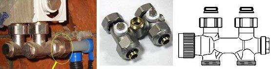 Установка радиатора с нижней подводкой: подготовка нужных элементов