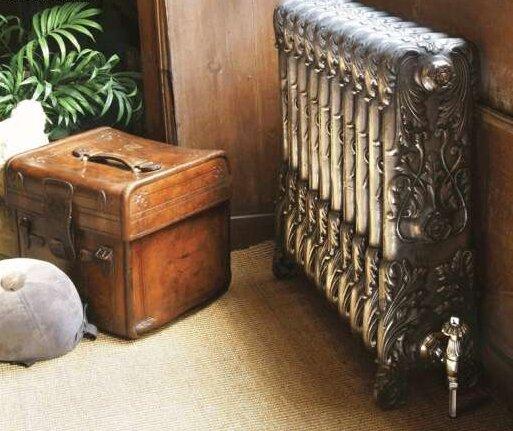 Ретро дизайн - оправдывает высокую цену радиаторов из чугуна