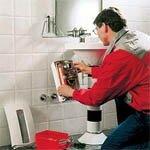 Установка проточного электрического водонагревателя