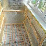 Утепление и ремонт лоджии в типовом панельном доме